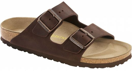 Birkenstock Birkenstock Arizona habana leather, in 2 withds