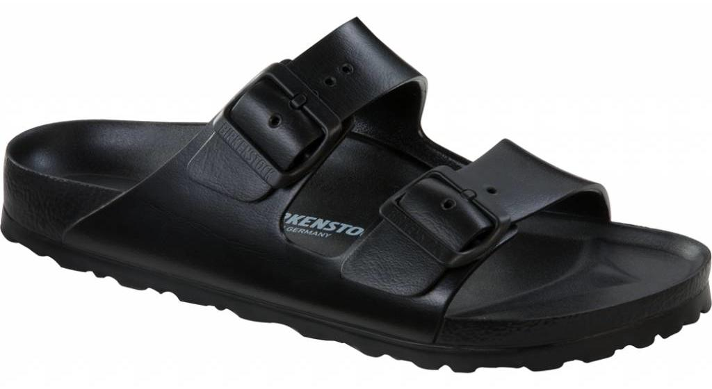 Birkenstock Arizona eva zwart, in 2 breedtes