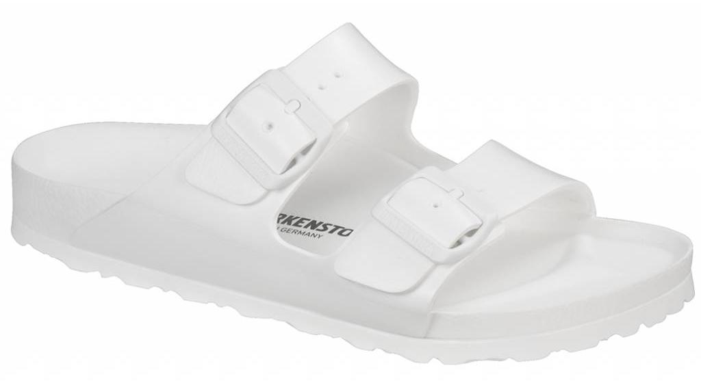 Birkenstock Arizona eva wit in 2 breedtes