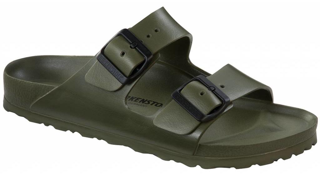Birkenstock Arizona eva khaki, in 2 breedtes
