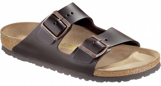 Birkenstock Birkenstock Arizona brown leather and soft footbed in 2 widths