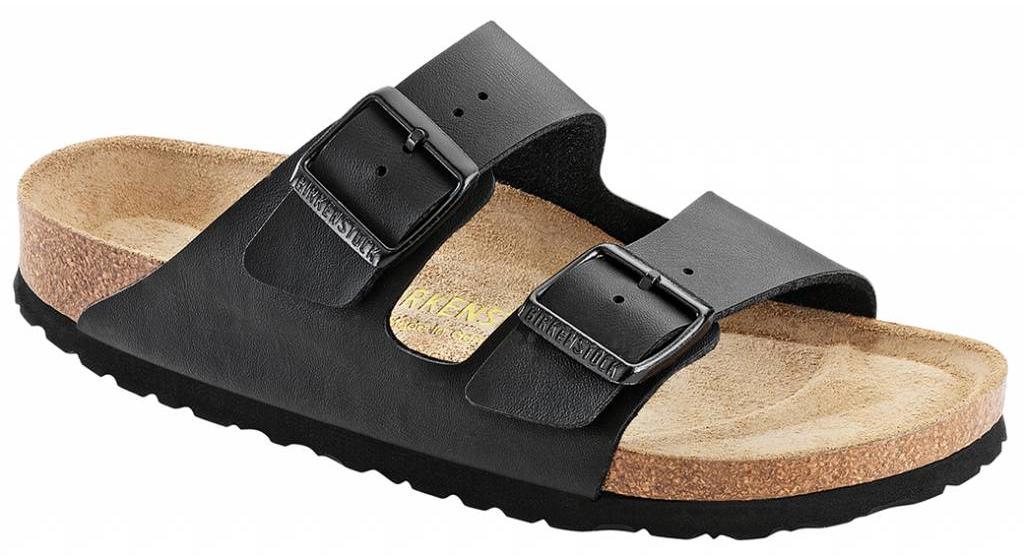 Birkenstock Arizona zwart met zacht voetbed