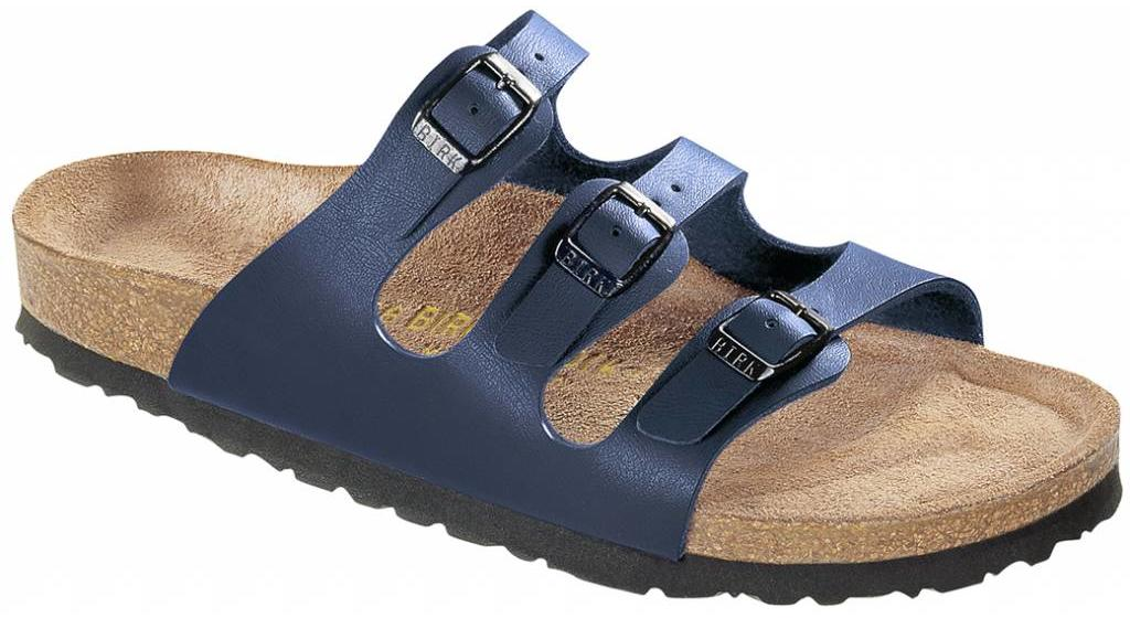 Birkenstock Florida blue, soft footbed, in 2 widths