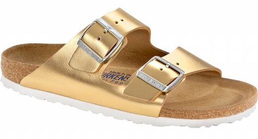 Birkenstock Birkenstock Arizona liquid gold, soft footbed