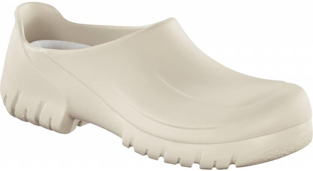 Birkenstock A640 safety clog white with steel nose