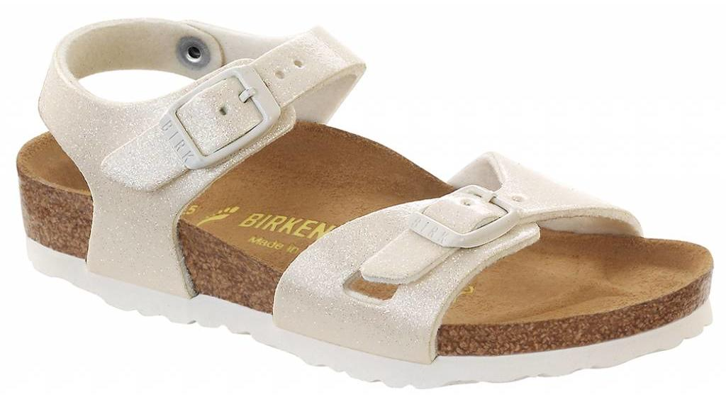 Birkenstock Rio kids magic galaxy white, in 2 widths