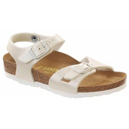 Birkenstock Rio kids magic galaxy wit, in 2 breedtes