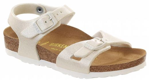 Birkenstock Birkenstock Rio kids magic galaxy white, in 2 widths
