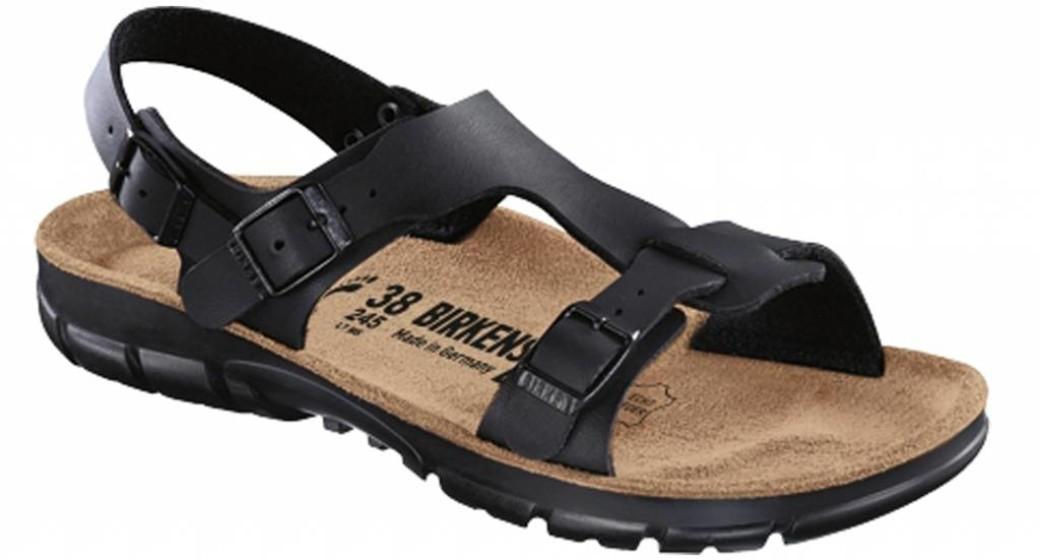 Birkenstock Saragossa black with flexible sole