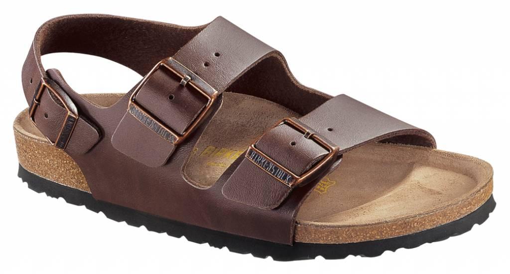 ZMDfeHA9T1 MILANO - Sandals - dark brown PRHNA