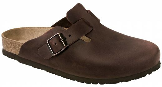 Birkenstock Birkenstock Boston habana leather in 2 widths