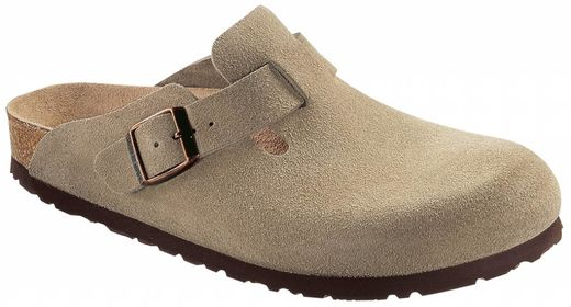 Birkenstock Birkenstock Boston suede leather taupe