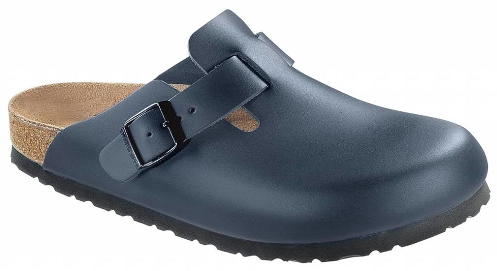 Birkenstock Boston blue leather in 2 widths