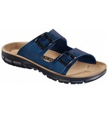 Birkenstock Birkenstock Bilbao blue with flexible sole, in 2 widths