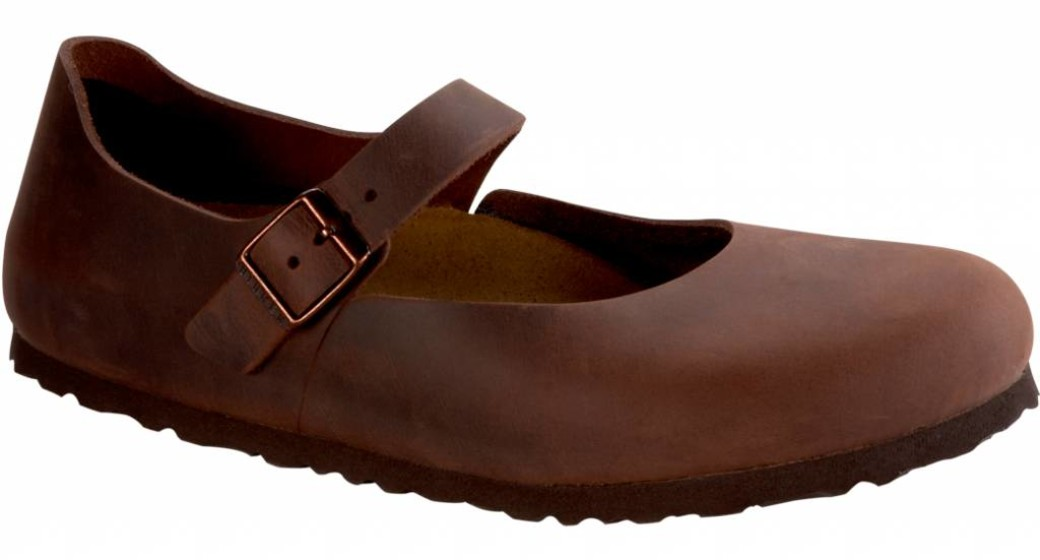 Birkenstock Mantova women habana oiled leather