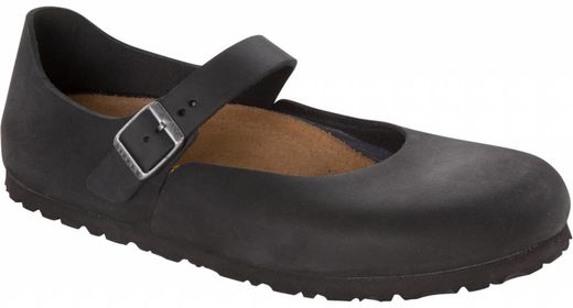 Birkenstock Birkenstock Mantova women black oiled leather