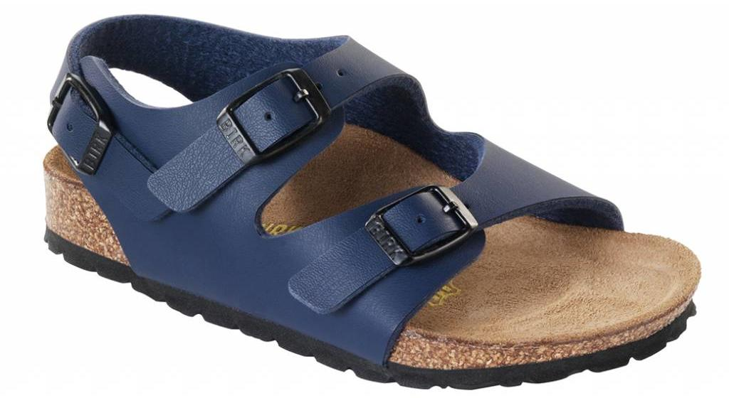 Birkenstock Roma kids blue, in 2 widths