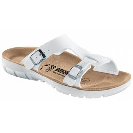 Birkenstock Sofia white, soft footbed