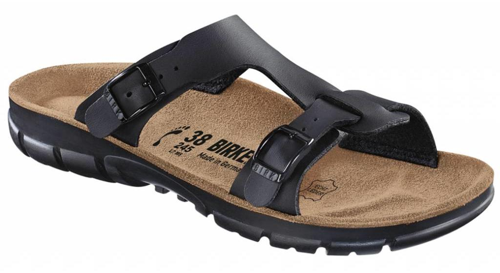 Birkenstock Sofia black, soft footbed