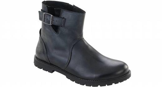 Birkenstock Birkenstock Stowe women black leather in 2 widths