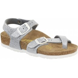 Birkenstock Taormina kids magic galaxy silver