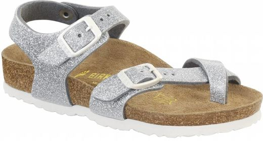 Birkenstock Birkenstock Taormina kids magic galaxy zilver