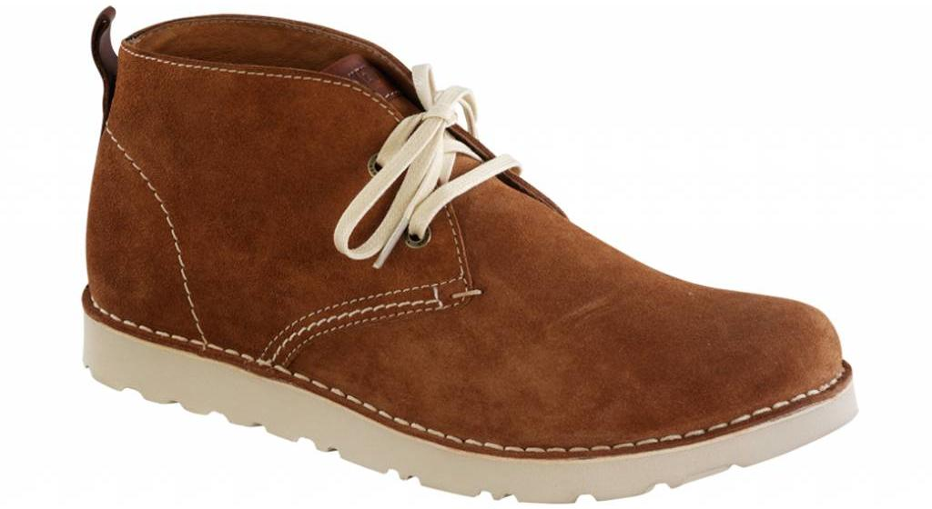 Birkenstock Harris heren suede chestnut in 2 breedtes