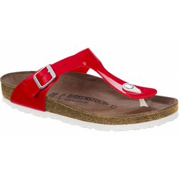 Birkenstock Gizeh red patent