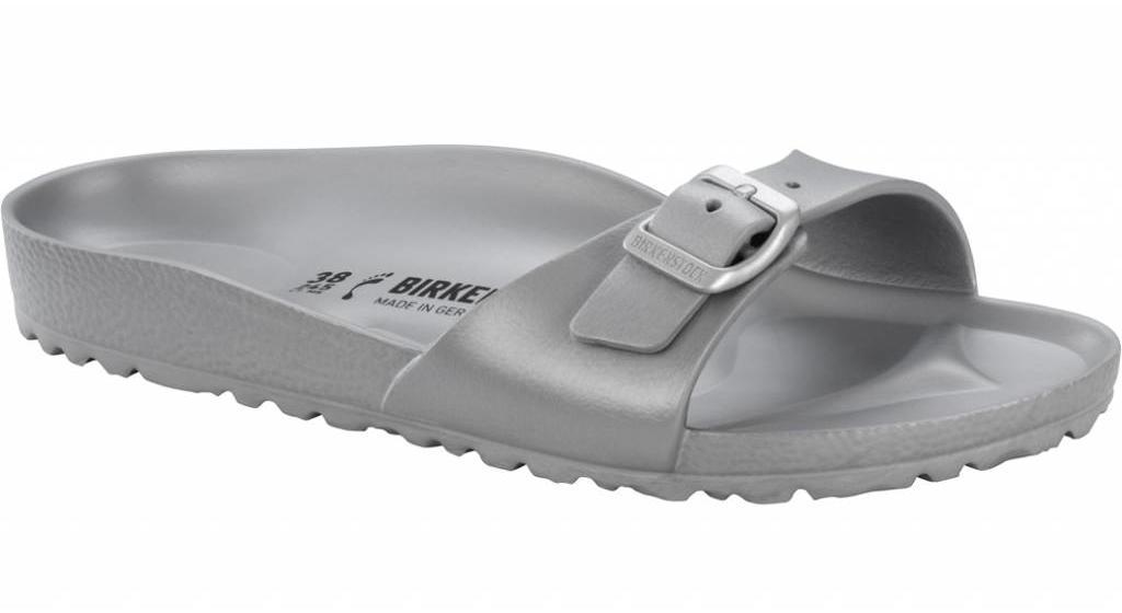 Birkenstock Madrid eva metallic zilver