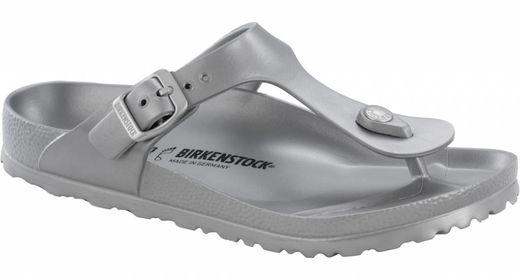 Birkenstock Birkenstock Gizeh eva metallic zilver