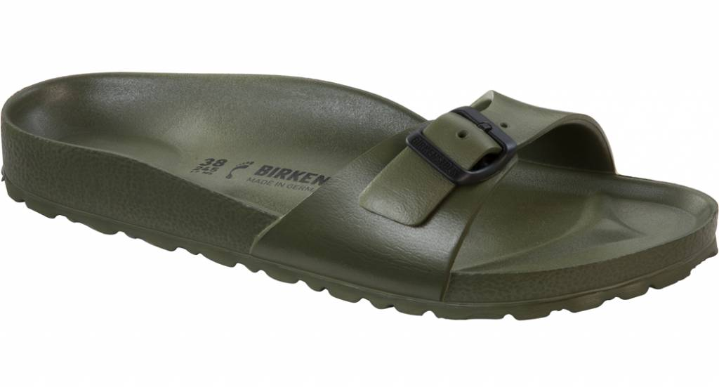 birkenstock madrid eva khaki the sandalsshop. Black Bedroom Furniture Sets. Home Design Ideas