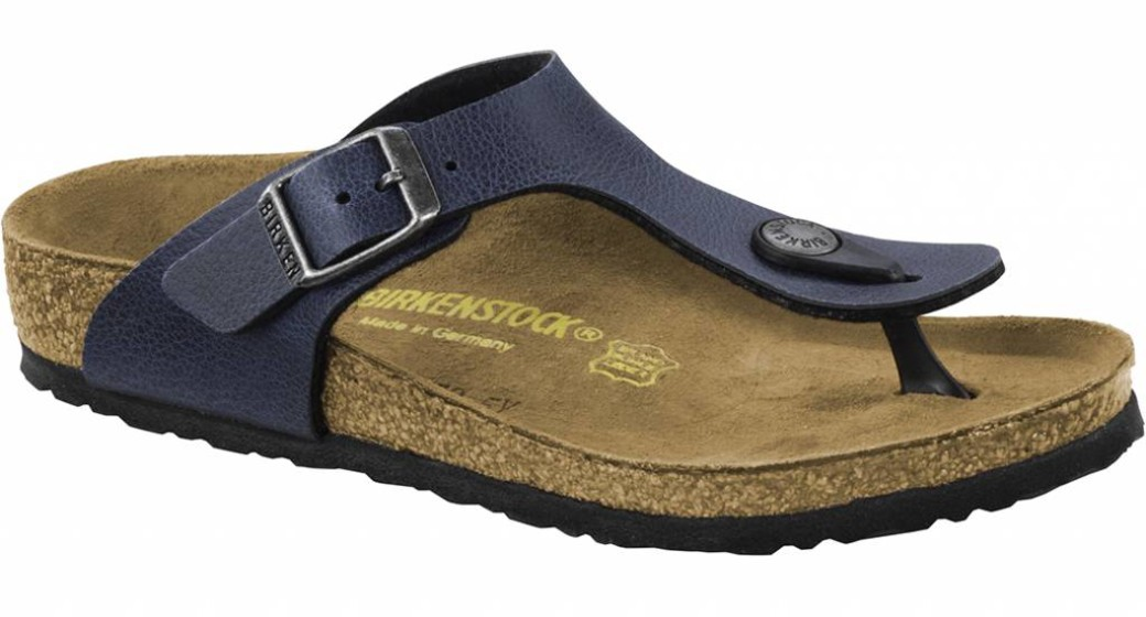 Birkenstock Gizeh kids pull up navy