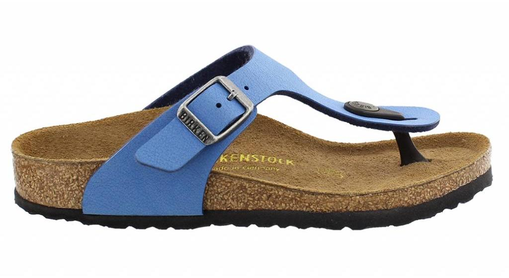 Birkenstock Gizeh kids deep water blue