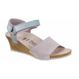 Birkenstock Eve grey leather