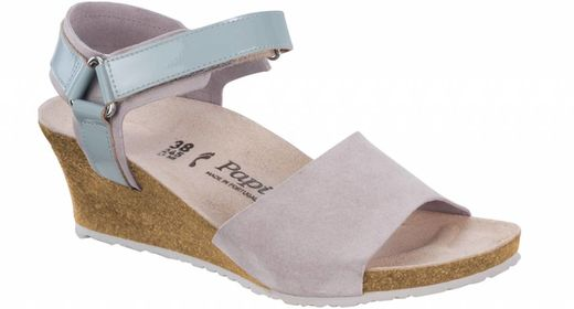 Birkenstock Papillio by Birkenstock Eve grey suède leather