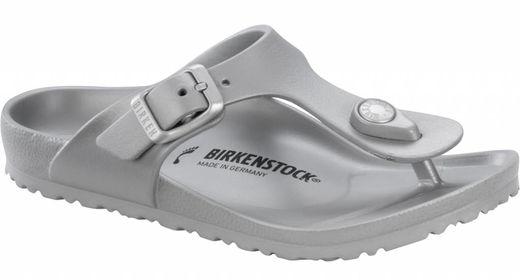 Birkenstock Birkenstock Gizeh kids eva metallic zilver
