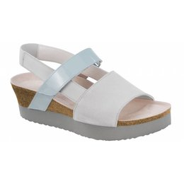Birkenstock Linda grey leather