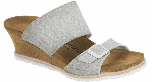 Birkenstock Papillio by Birkenstock Della beach light grey