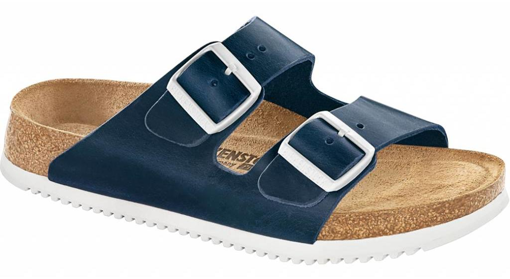 Birkenstock Arizona blue oiled leather in 2 widths