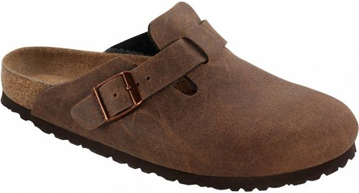 Birkenstock Birkenstock Boston vegan cocoa brown in 2 widths