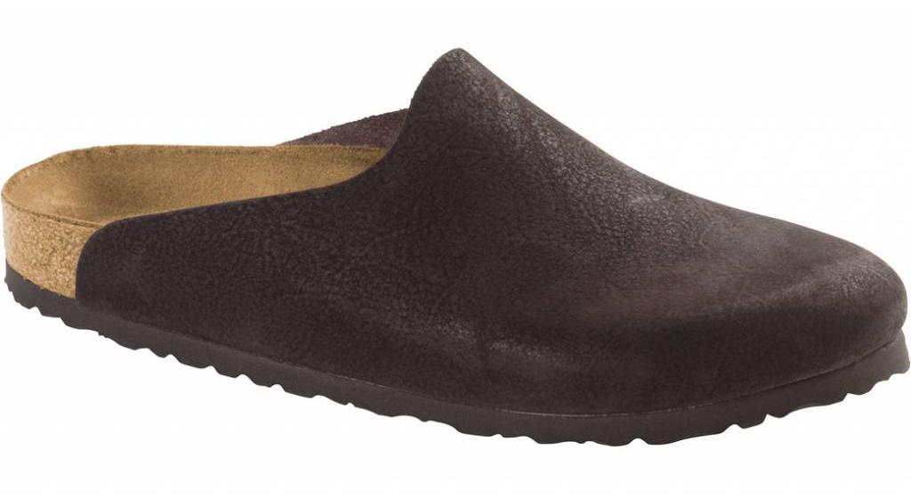 Birkenstock Amsterdam chocolate leer in 2 breedtes