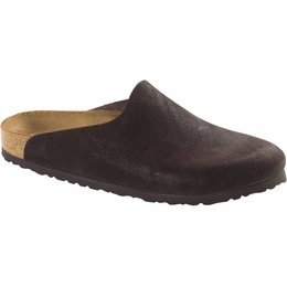 Birkenstock Amsterdam chocolate leather in 2 widths