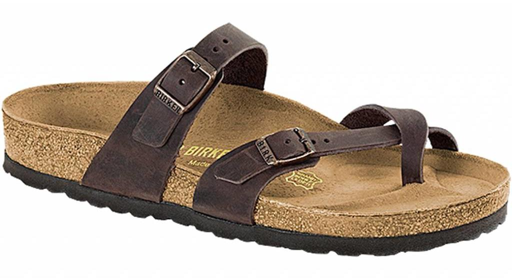 Birkenstock Mayari habana leather
