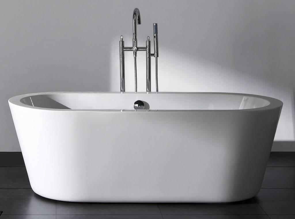 20170322 001529 badkamer vrijstaand bad - Kamer wit houten bad ...