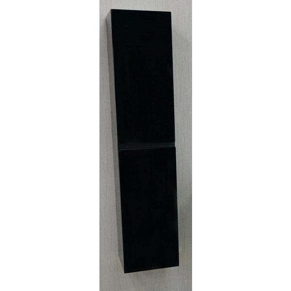 sem janga kolomkast 160x35x35cm zwart hoogglans rechts/links, Badkamer