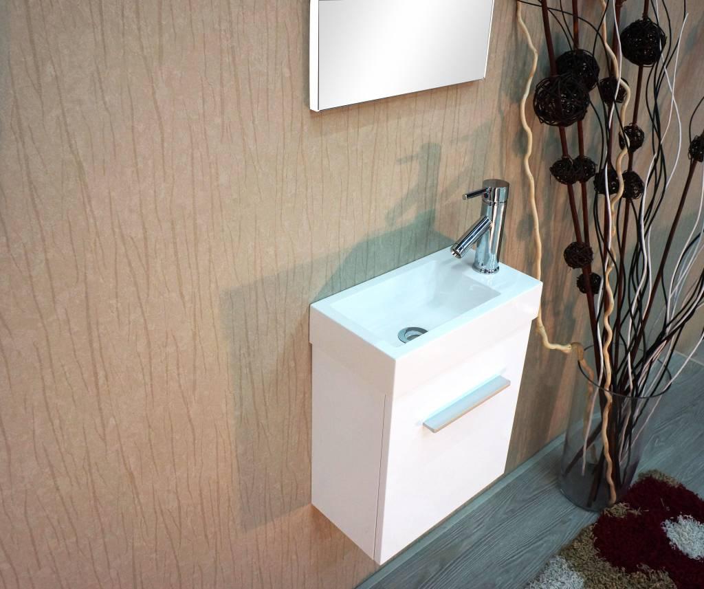Home / Badmeubelen / Sem Nimba toiletmeubel 40x22cm wit hoogglans ...