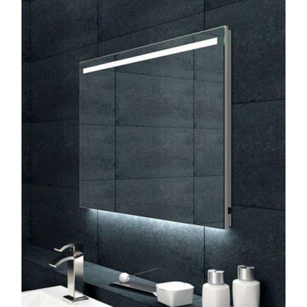 Maxxo Giova condensvrije spiegel met ambi en LED 60x60cm ...