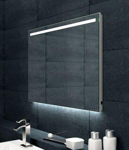 Maxxo giova condensvrije spiegel met ambi en led 100x60cm badkamer co - Spiegel badkamer geintegreerde verlichting ...