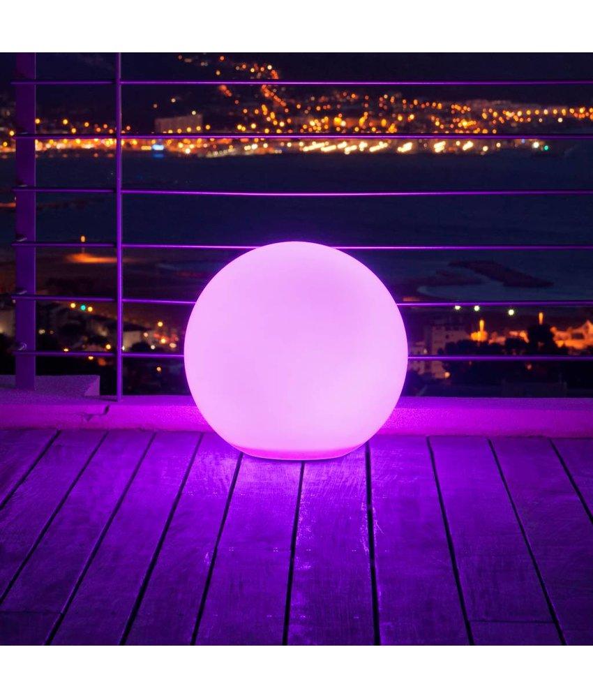 LEDZMAKEFUN Bol met multicolor LED verlichting