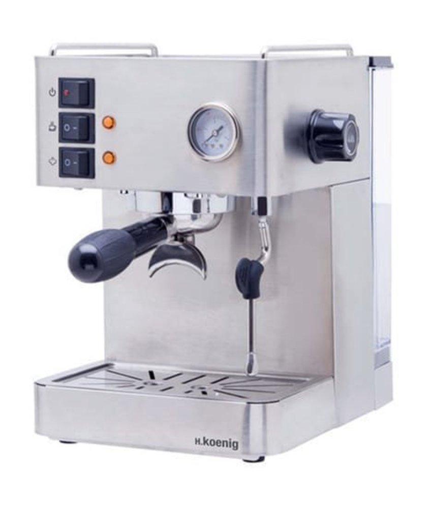 H.KOENIG RVS Espressomachine